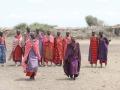 Danza tradicional de mujeres masai