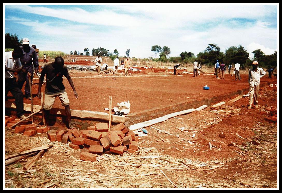Construcción escuela