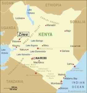 MAPA POLITICO KENIA