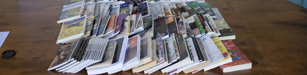 Libros llegados desde España