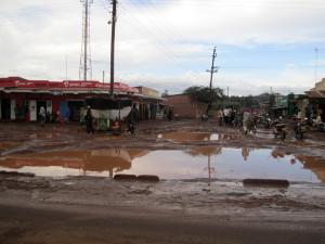 Charcos en Ziwa