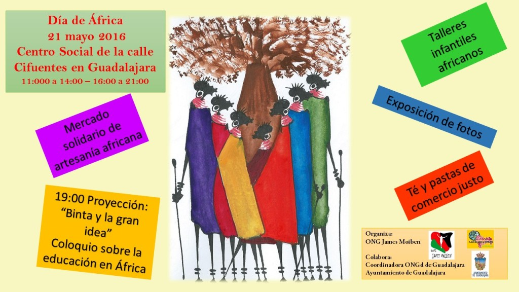 Dia de AFrica cartel