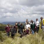 El grupo de alumnos que visitaron Monte Elgon